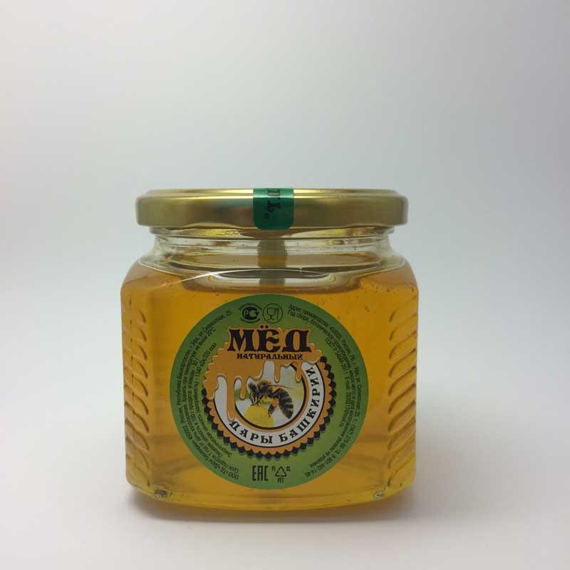 мёд башкирский